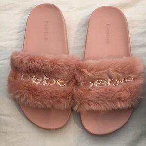 Pink Bebe Slippers/Sandals